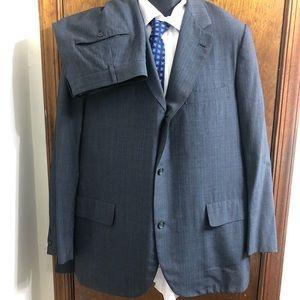 Brooks Brothers Makers Golden Fleece Navy Suit